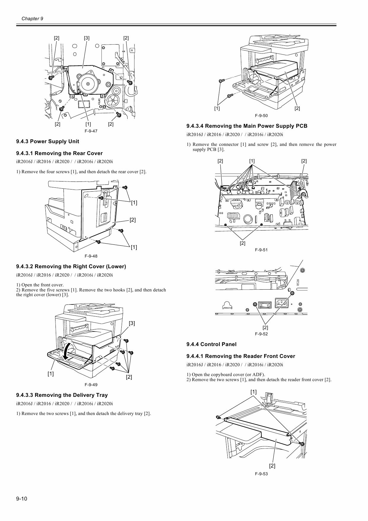 Canon imageRUNNER-iR 2020 2016 J Service Manual-5